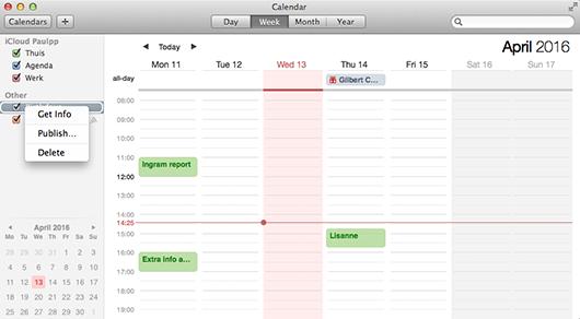 Verjaardag meldingen uitzetten op je Mac